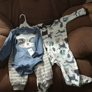 NEW! Carter's pajama and outfit set*